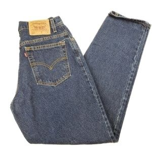 Levi's 550 relax fit tapered leg high waist jeans